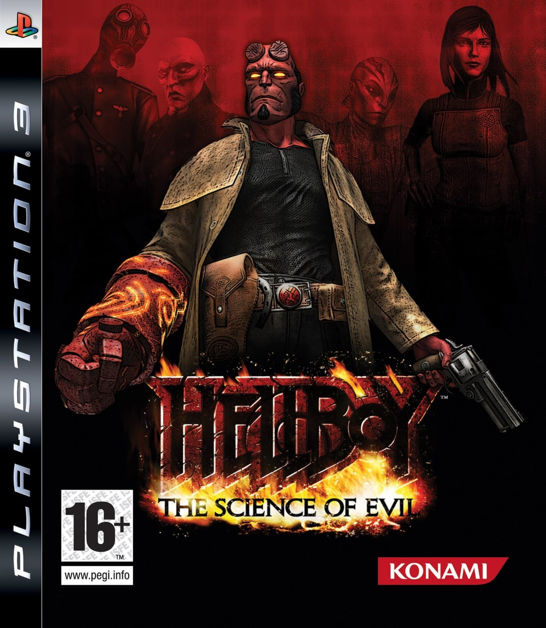 Hellboy: The Science of Evil б/у PS3