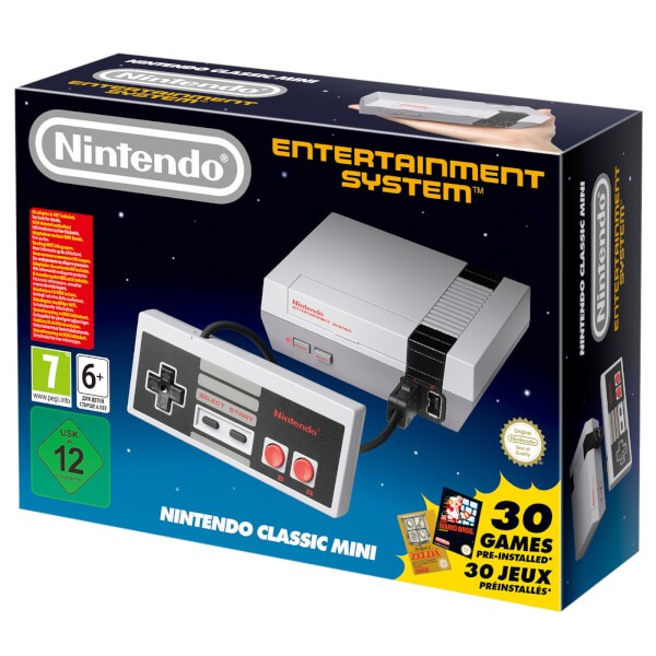 Nintendo Classic Mini: Nintendo Entertainment System + 30 ігор в комплекті
