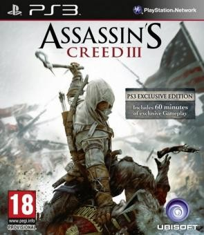 Assassin's Creed 3 б/у PS3