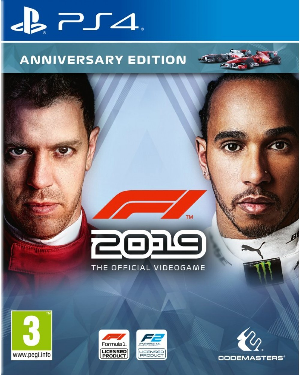 Formula One 2019. Anniversary Edition PS4