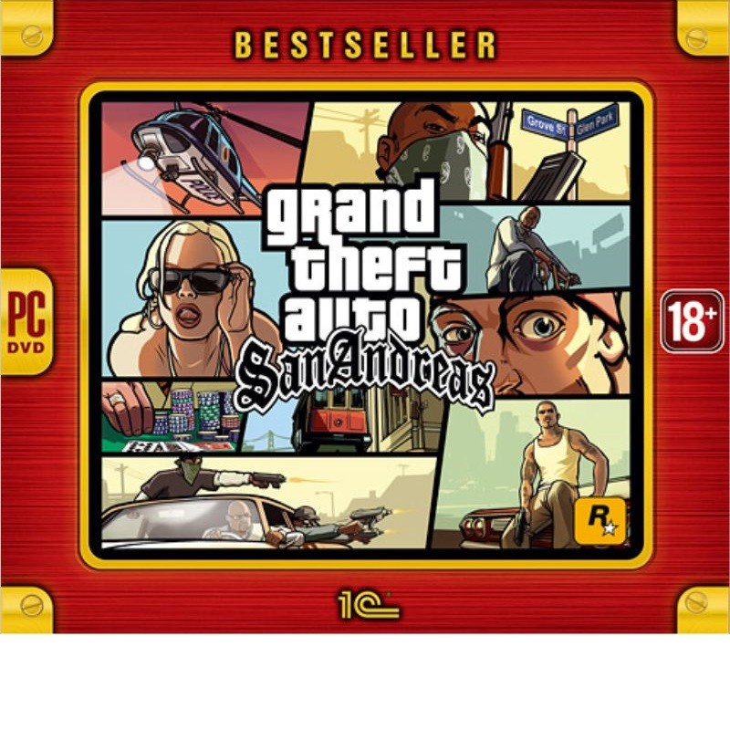 Grand Theft Auto: San Andreas | GTA San Andreas рус.