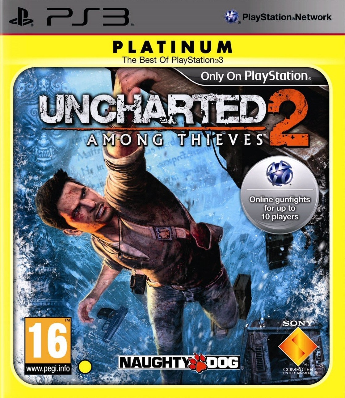 Uncharted 2 Among Thieves Platinum | Uncharted 2 Серед крадіїв б/в PS3