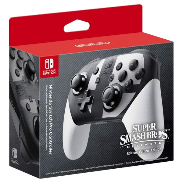 Беспроводной контроллер Nintendo Switch Pro Super Smash Bros. Ultimate Edition