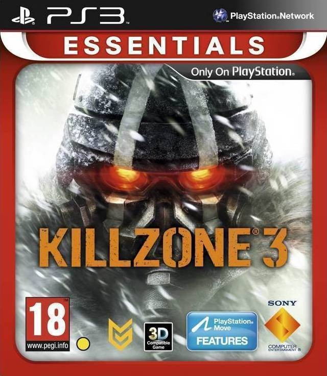 Killzone 3 (Essentials) (3D, з підтримкою PS Move) PS3