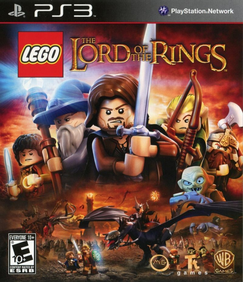 LEGO The Lord of the Rings б/а PS3