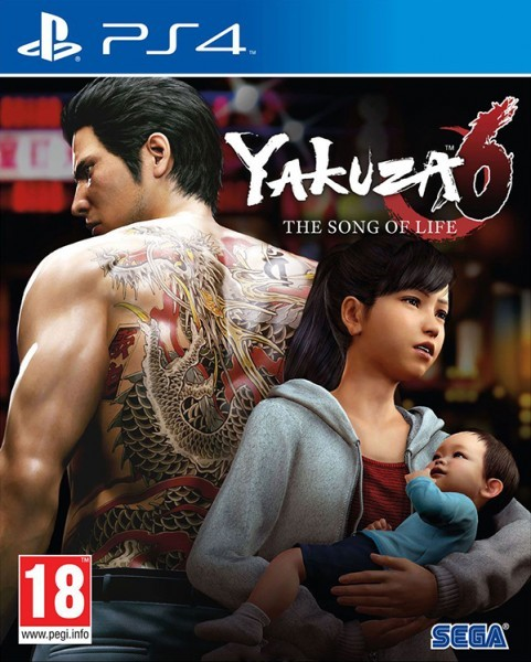 Yakuza 6: The Song of Life. Essence of Art Edition PS4