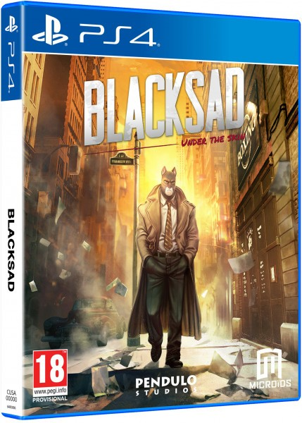 Blacksad: Under The Skin. Limited Edition PS4