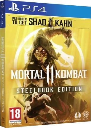 Mortal Kombat 11. Steelbook Edition PS4