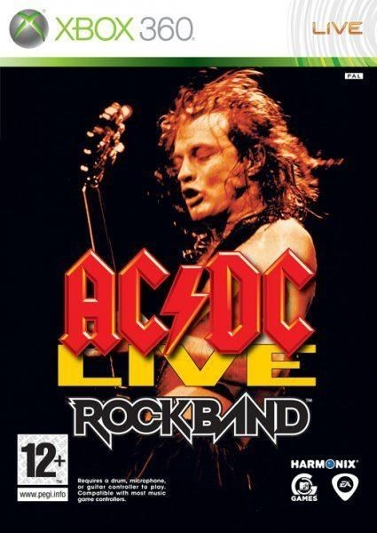 AC/DC Live Rock Band б/у X360