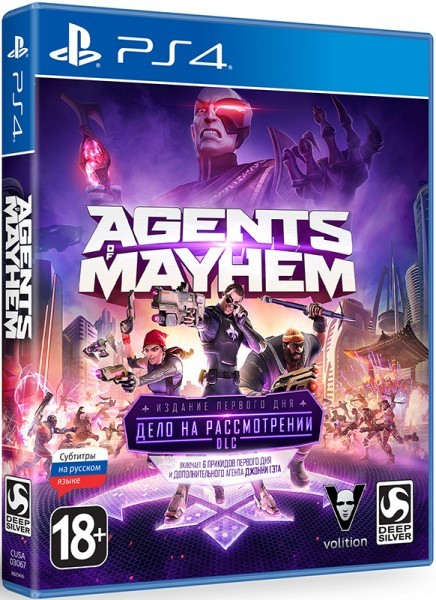 Agents of Mayhem Издание первого дня | Agents of Mayhem Day One Edition PS4