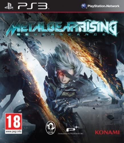 Metal Gear Rising Revengeance | MGS б/у PS3