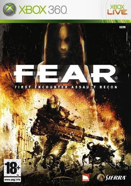F.E.A.R. First Encounter Assault Recon б/у X360