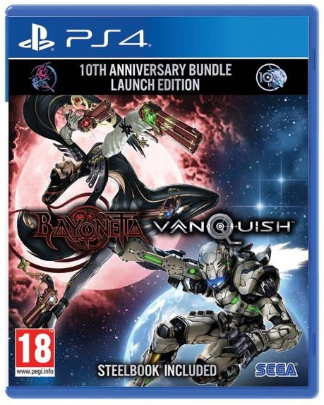 Bayonetta and Vanquish 10th Anniversary Bundle PS4