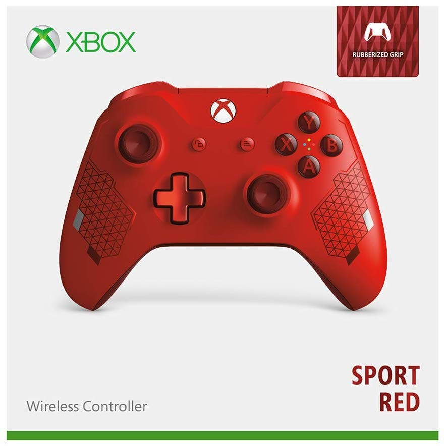 Бездротовий контролер/джойстик/геймпад Xbox – Sport Red особливої серії | XBOX ONE Wireless Controller Sport Red Special Edition (червоний)