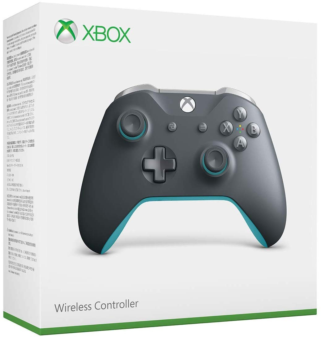 Бездротовий контролер/джойстик/геймпад Xbox — сіро-синій | XBOX ONE Wireless Controller Gray/Blue