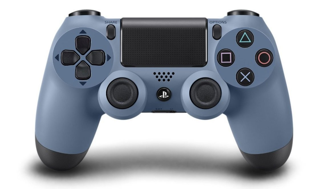DualShock 4 Wireless Controller Gray Blue V1