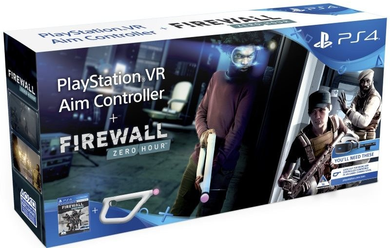 Sony PlayStation VR Aim Controller Firewall Zero Hour Bundle