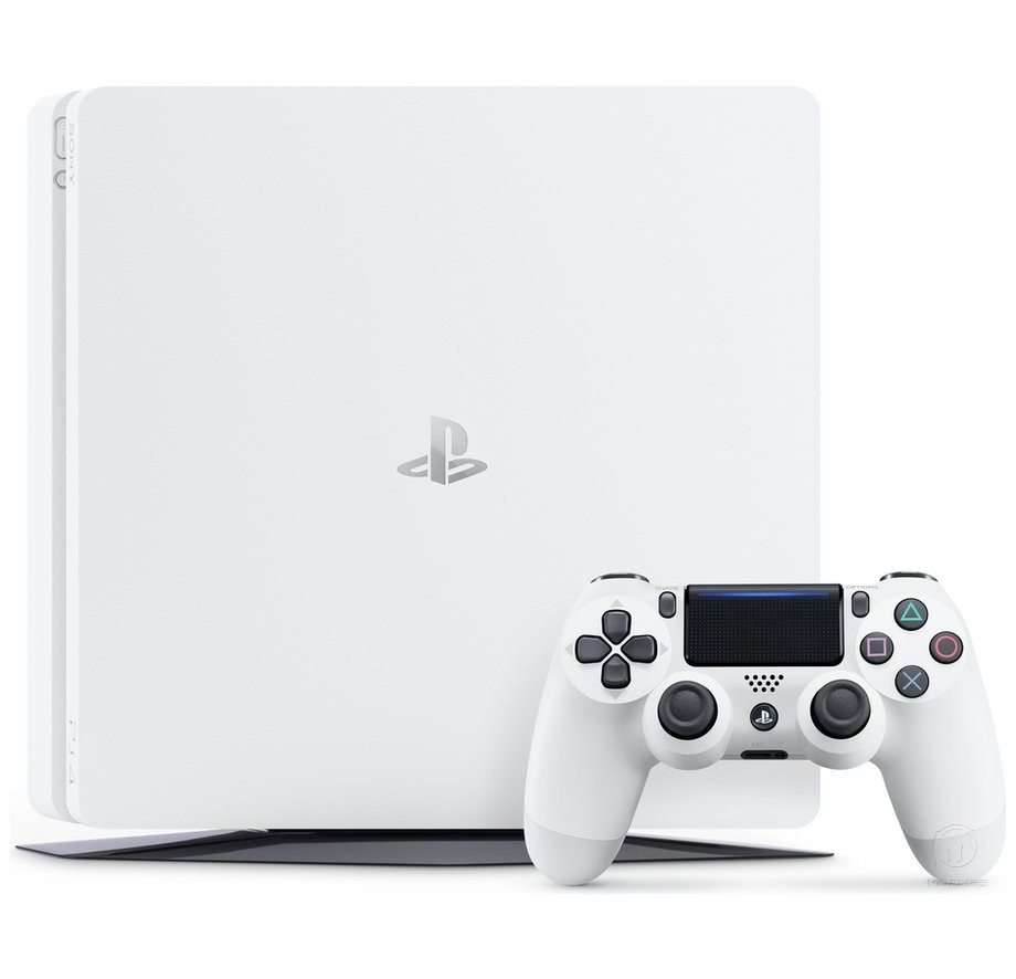 Sony PlayStation 4 Slim 500GB Glacier White
