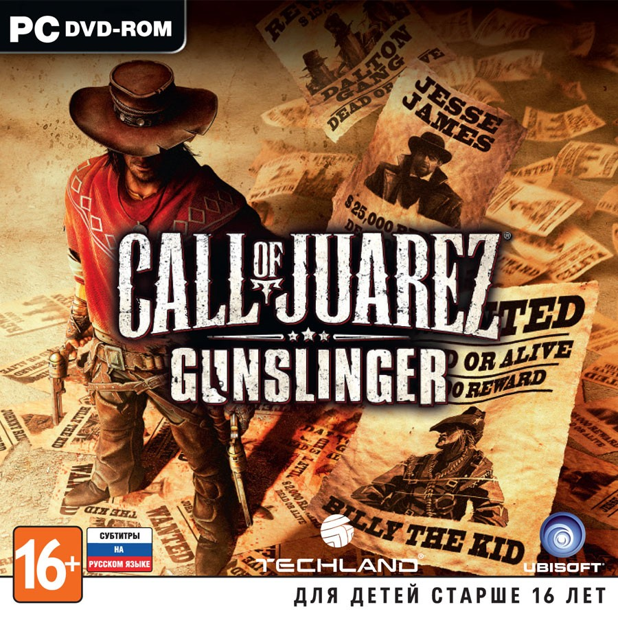 Call of Juarez: Gunslinger рус.