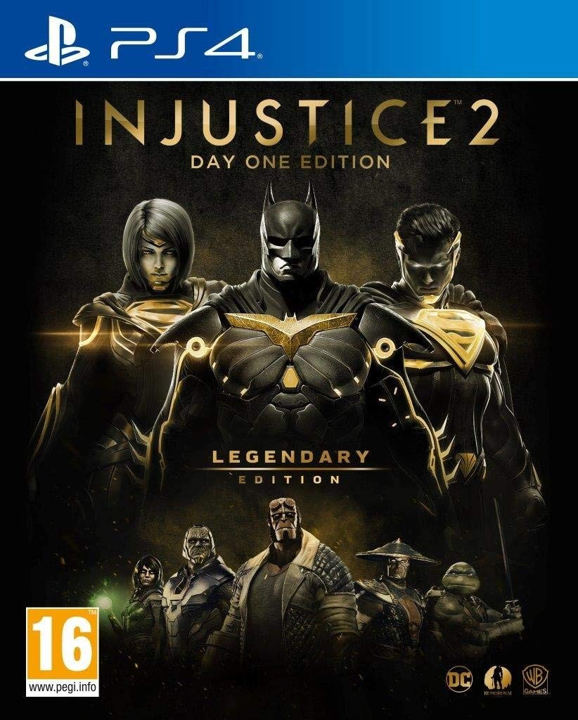 Injustice 2. Legendary Steelbook Edition