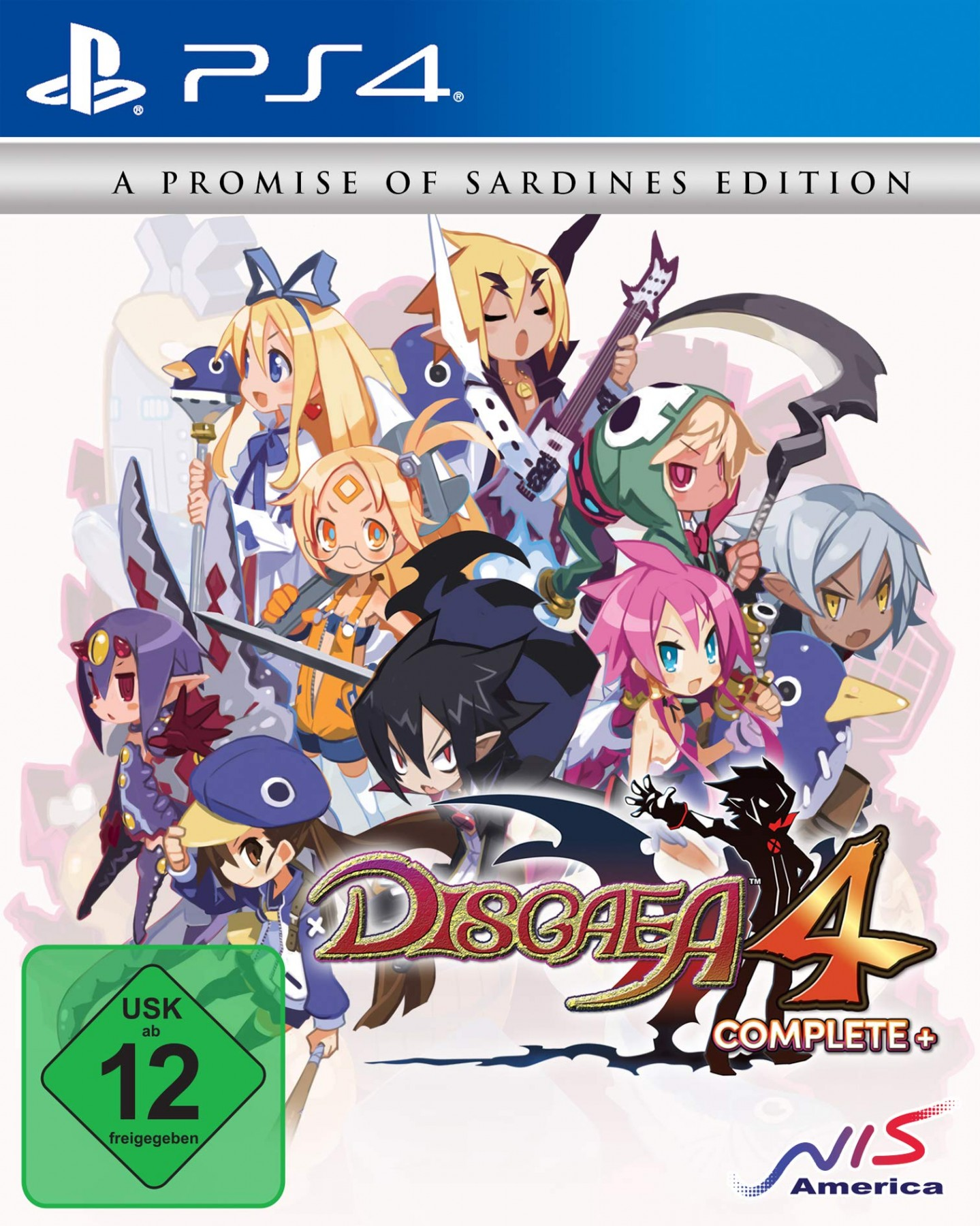 Disgaea 4 Complete+ A Promise of Sardines Edition PS4