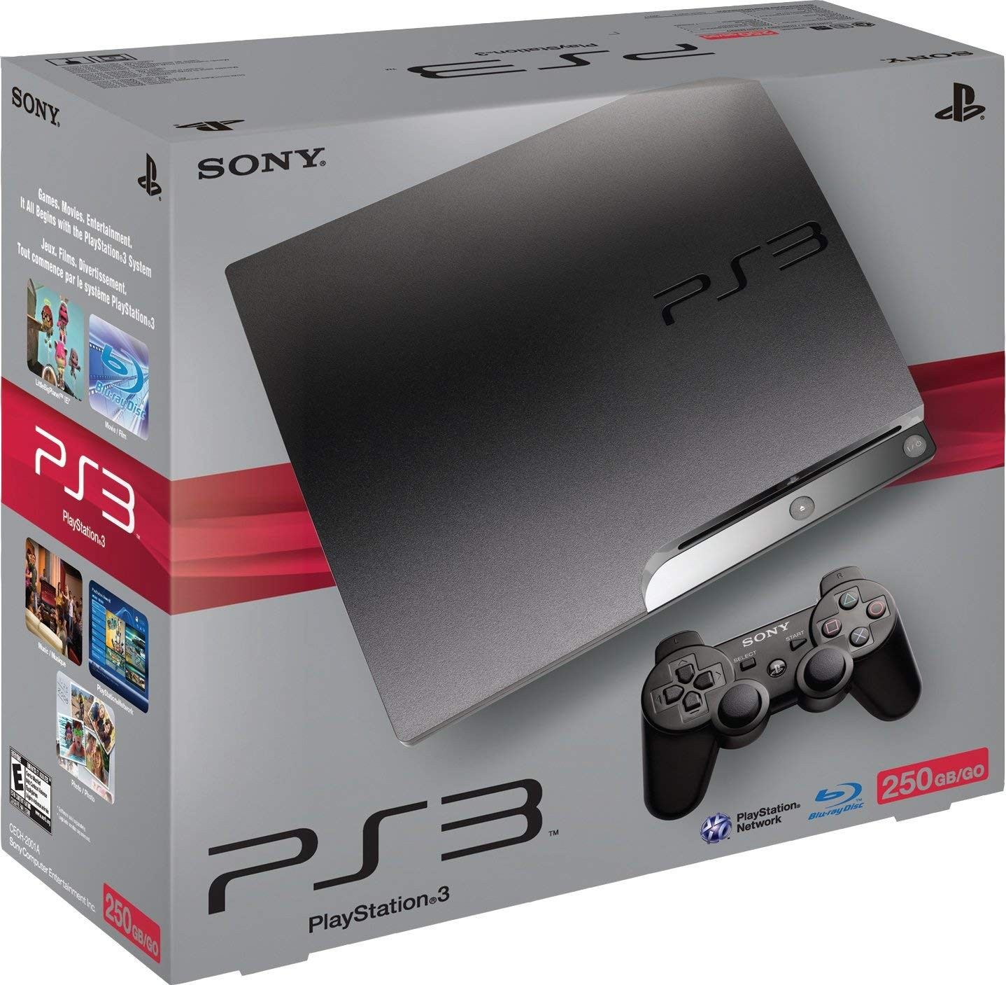 Sony PlayStation 3 Slim 250GB | PS3 Slim 250GB б/в