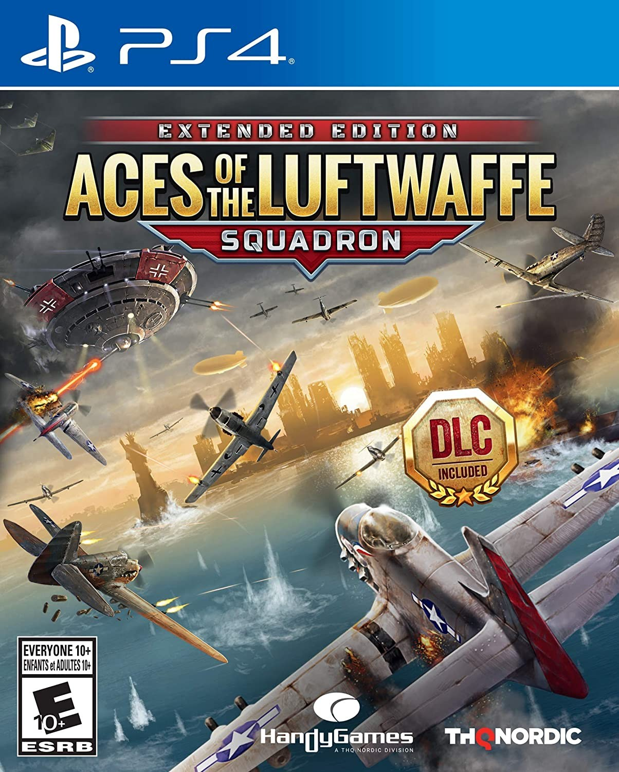 Aces of the Luftwaffe - Squadron Extended Edition PS4