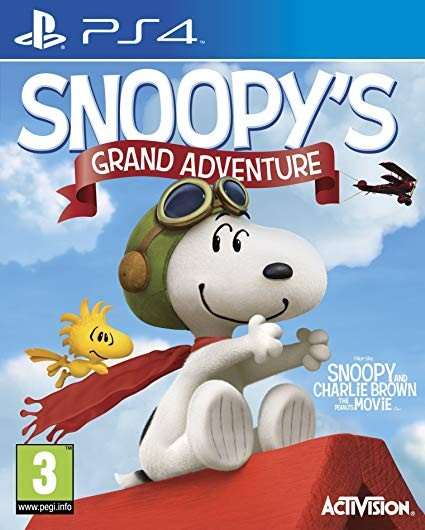 The Peanuts Movie: Snoopy's Grand Adventure PS4