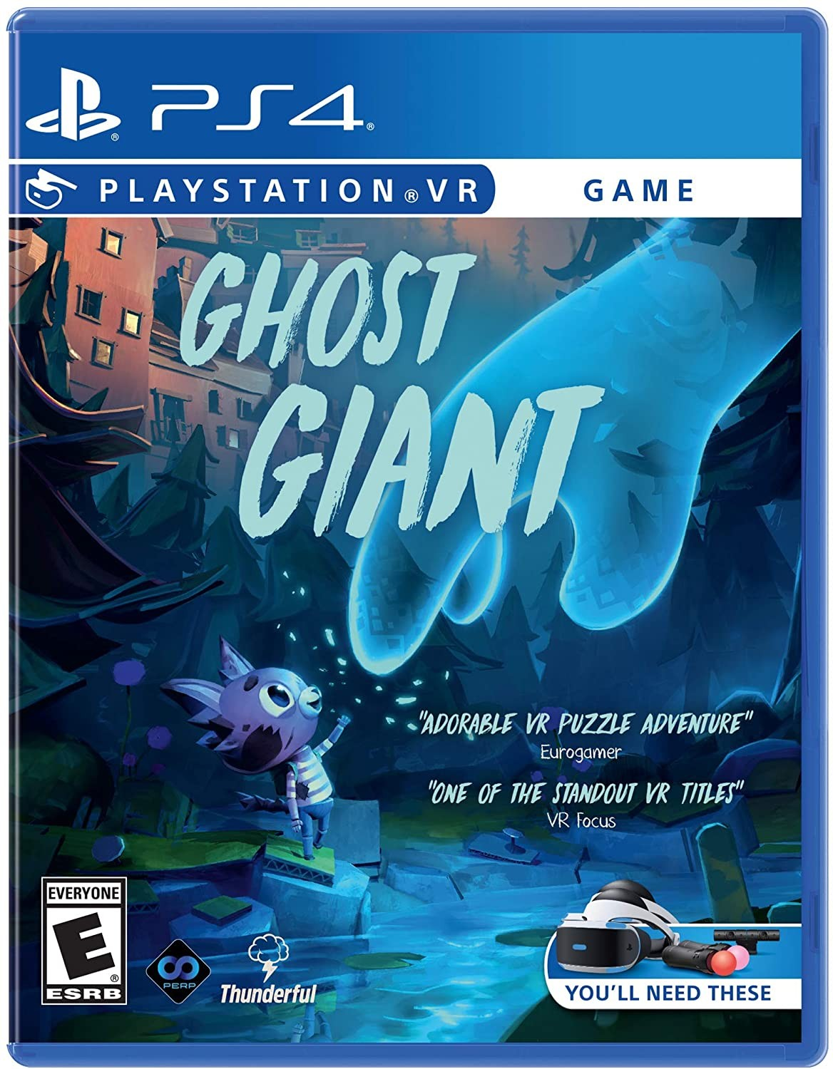 Ghost Giant VR PS4