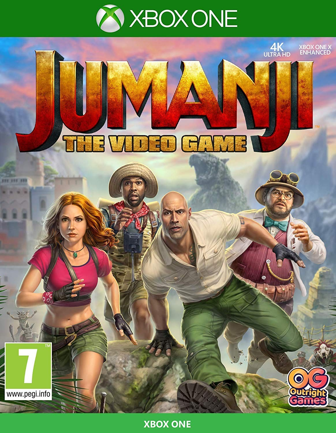 Джуманджі: Гра | Jumanji: The Video Game XONE