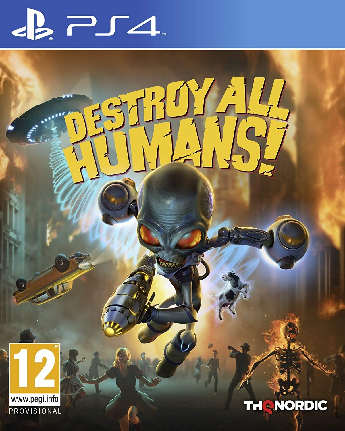 Destroy All Humans! 2020 PS4