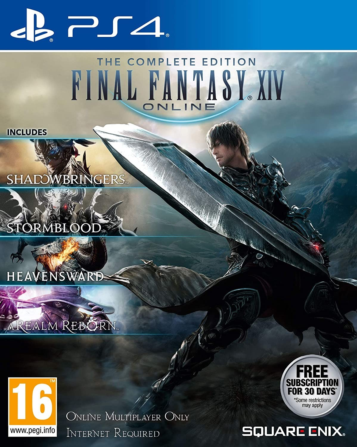 Final Fantasy XIV Online Complete Edition PS4