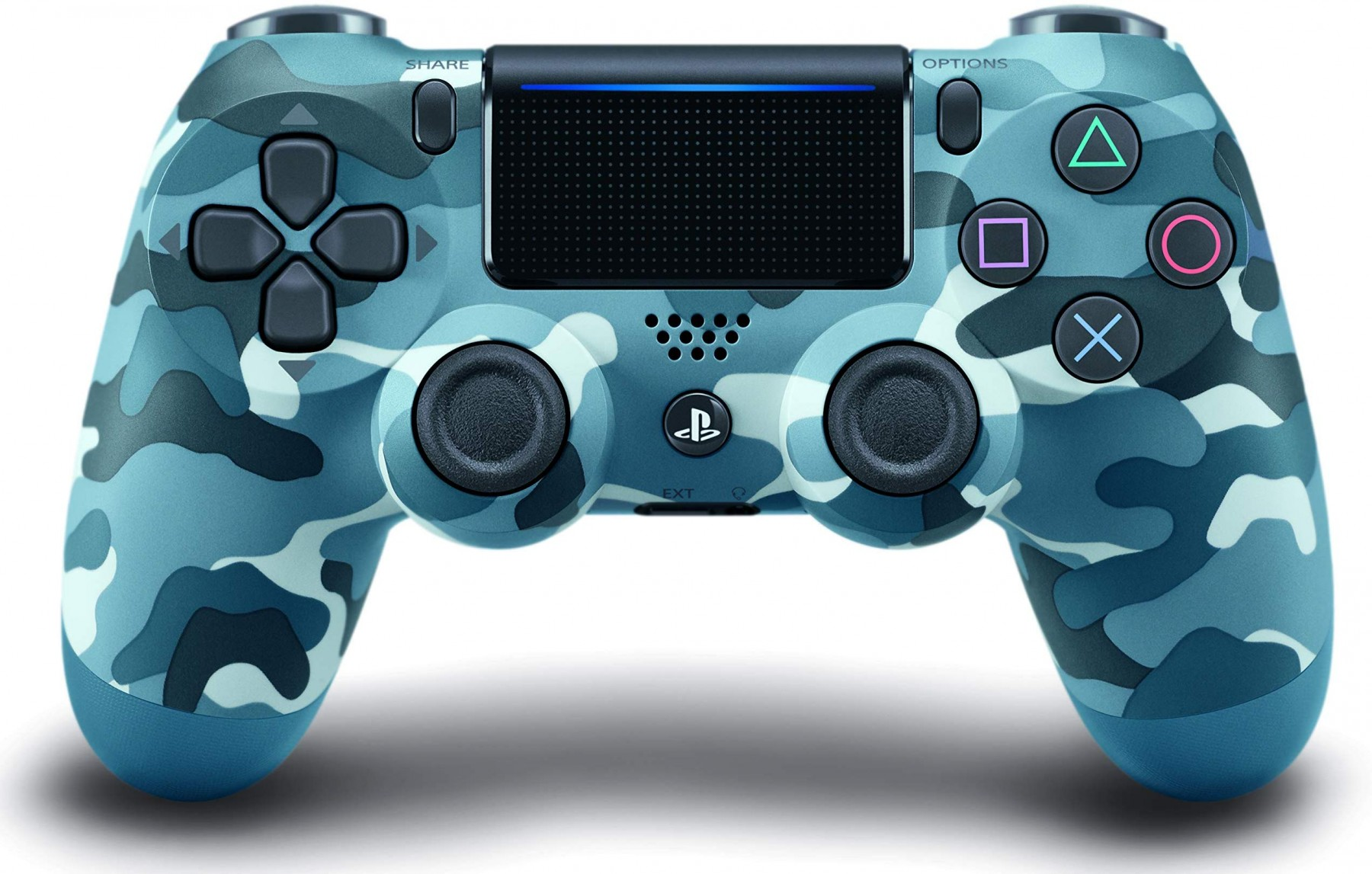 DualShock 4 Wireless Controller Blue Camouflage V2