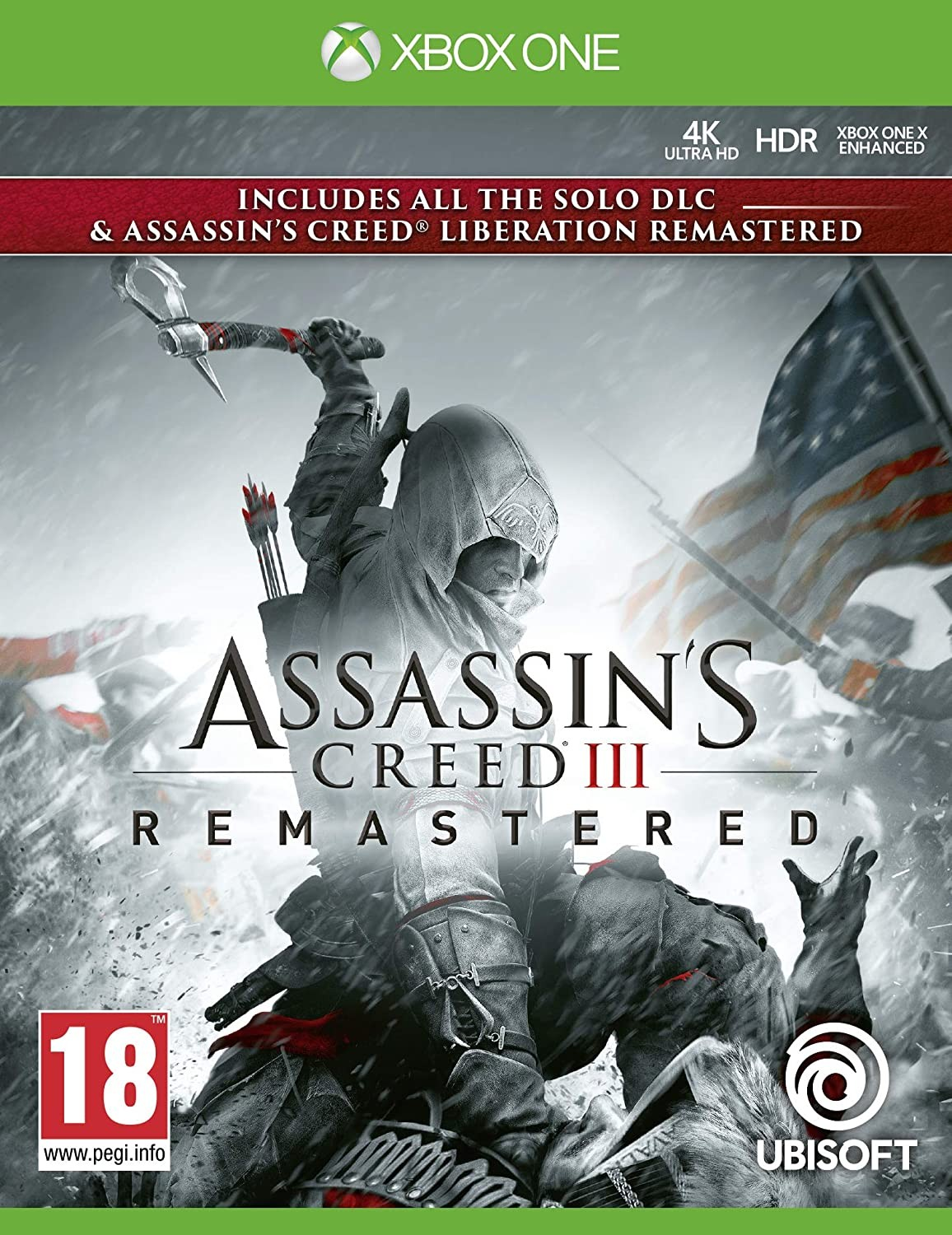 Assassin's Creed III Обновленная версия | Assassin's Creed III Remastered XONE