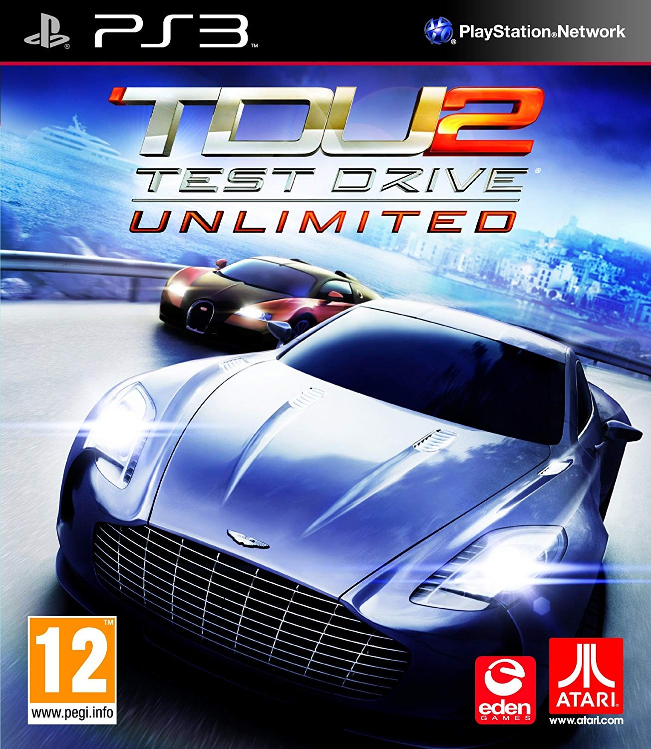 Test Drive Unlimited 2 б/у PS3