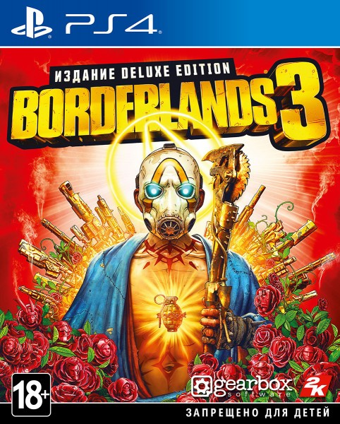 Borderlands 3. Deluxe Edition PS4