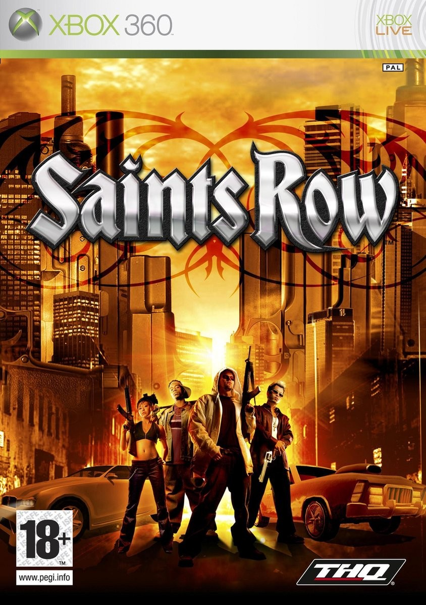 Saints Row б/у X360