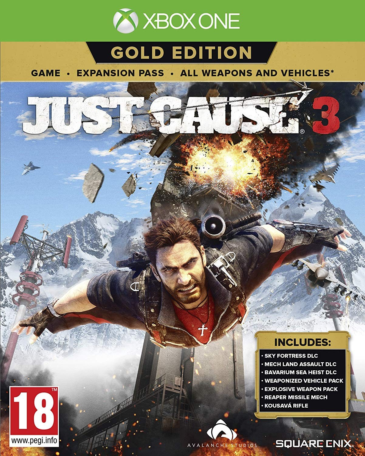 Just Cause 3. Gold Edition XONE