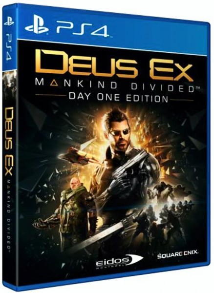 Deus Ex: Mankind Divided. Day One Edition PS4