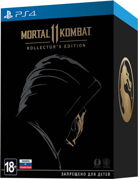 Mortal Kombat 11. Kollector's Edition PS4