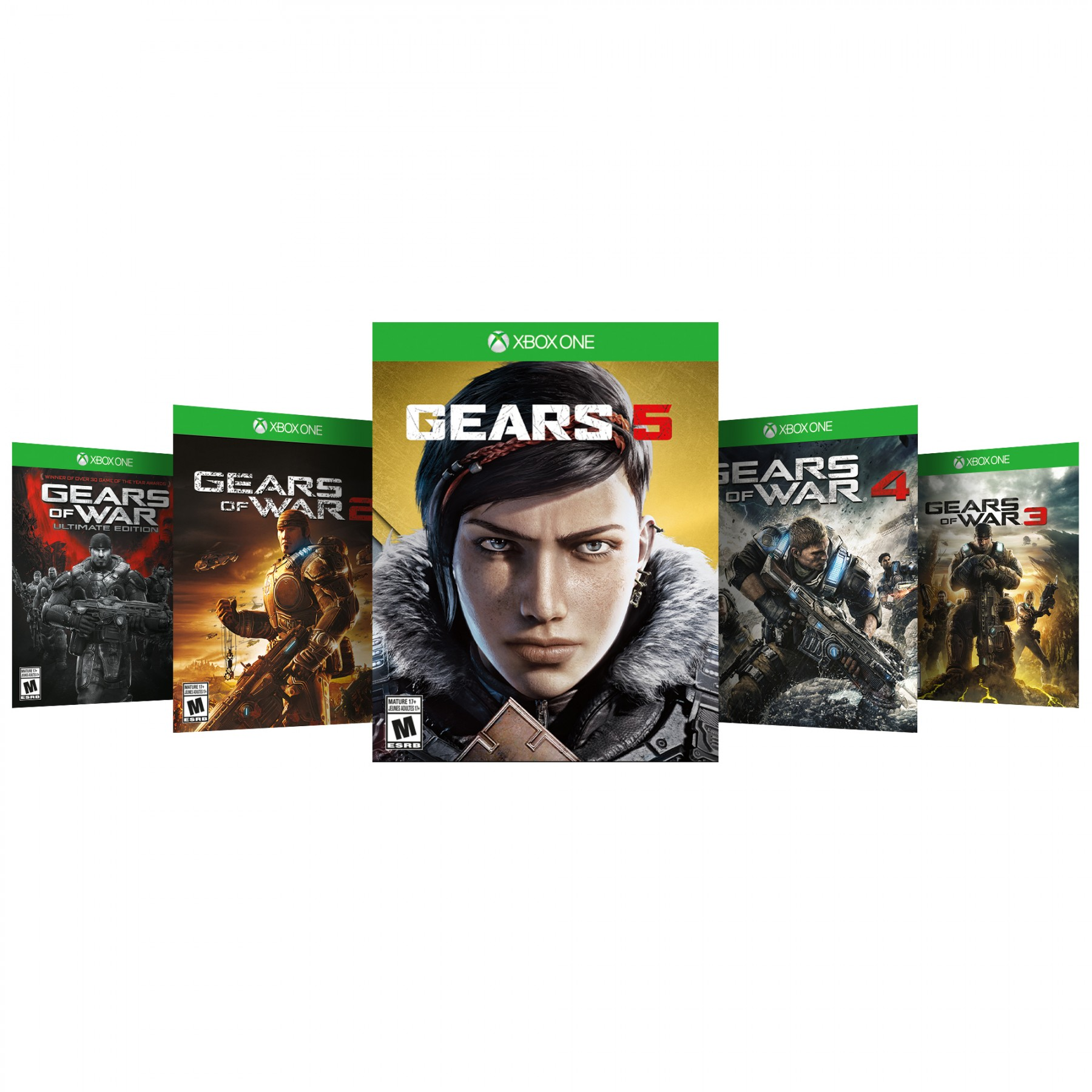 Gears 5 + Gears Of War Collection (код) XONE