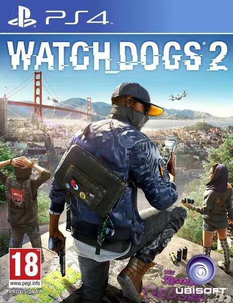 Watch Dogs 2 б/у PS4