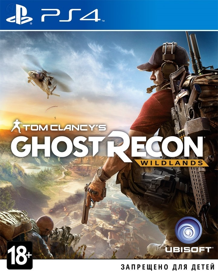 Tom Clancy's Ghost Recon: Wildlands б/в PS4