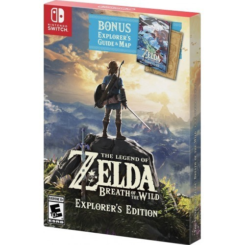 The Legend of Zelda: Breath of the Wild Explorer's Edition б/в SWITCH