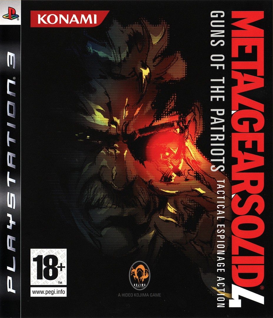 Metal Gear Solid 4 Guns of the Patriots | MGS 4 Guns of the Patriots б/в PS3