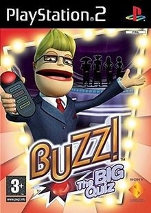 Buzz!: The Mega Quiz (PS2 Game) Б/В