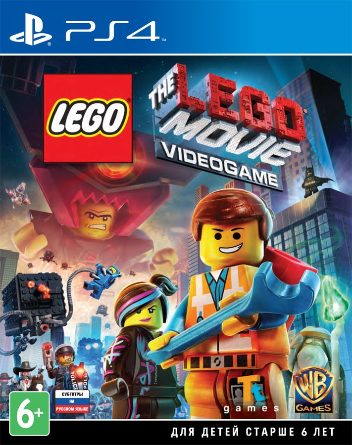 The LEGO Movie Videogame (рос.) б/в PS4