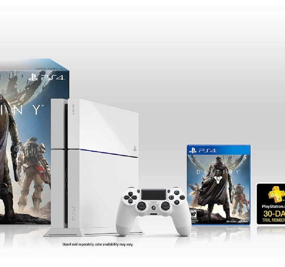 Sony PlayStation 4 500gb Glacier White + Destiny