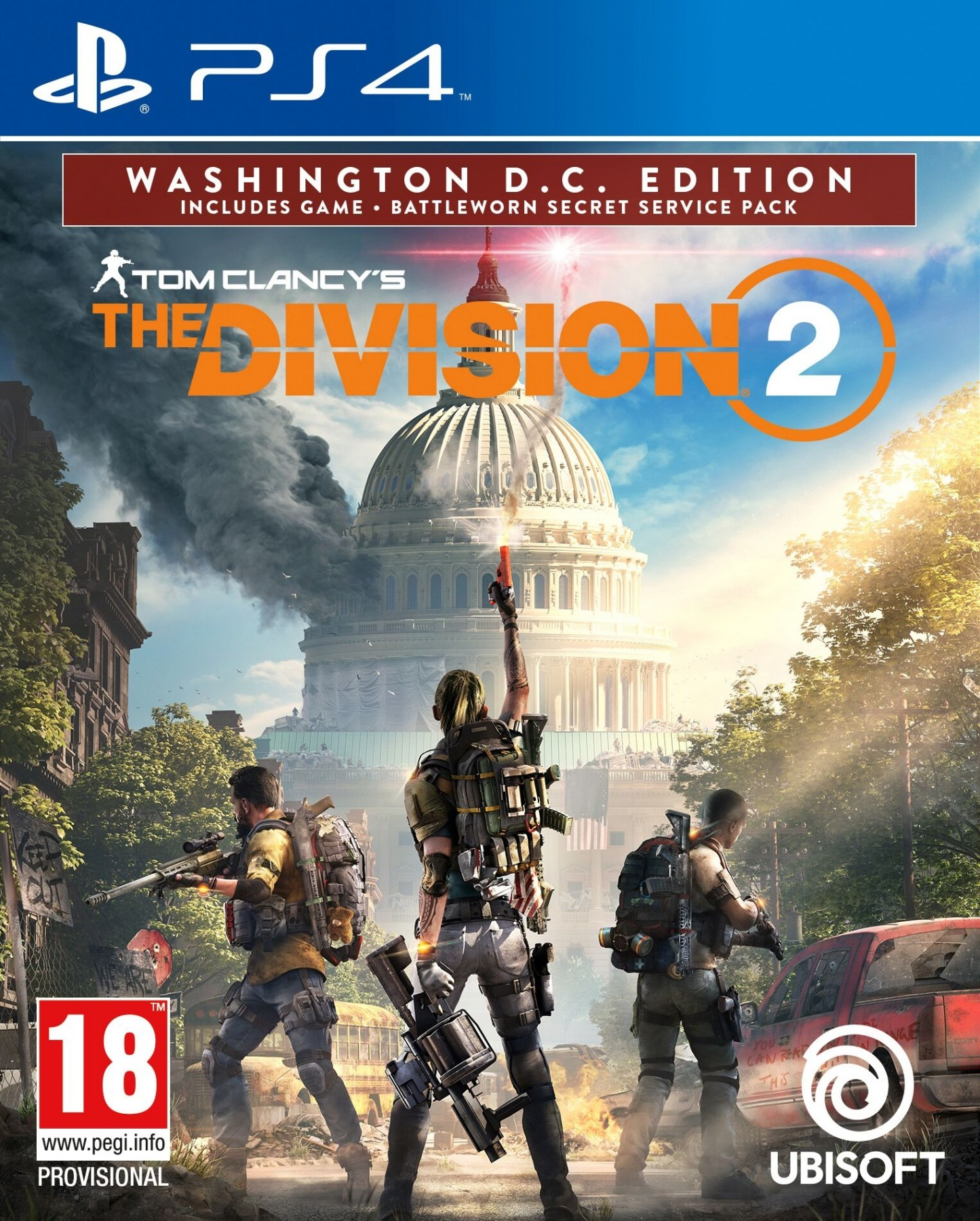 Tom Clancy's The Division 2. Washington D.C. Edition PS4