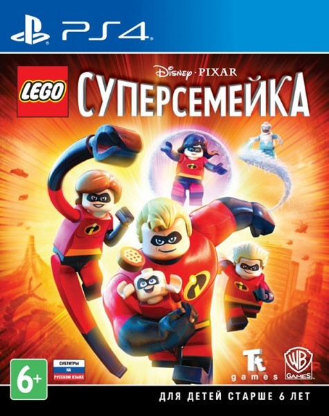 LEGO Суперсімейка | LEGO The Incredibles PS4